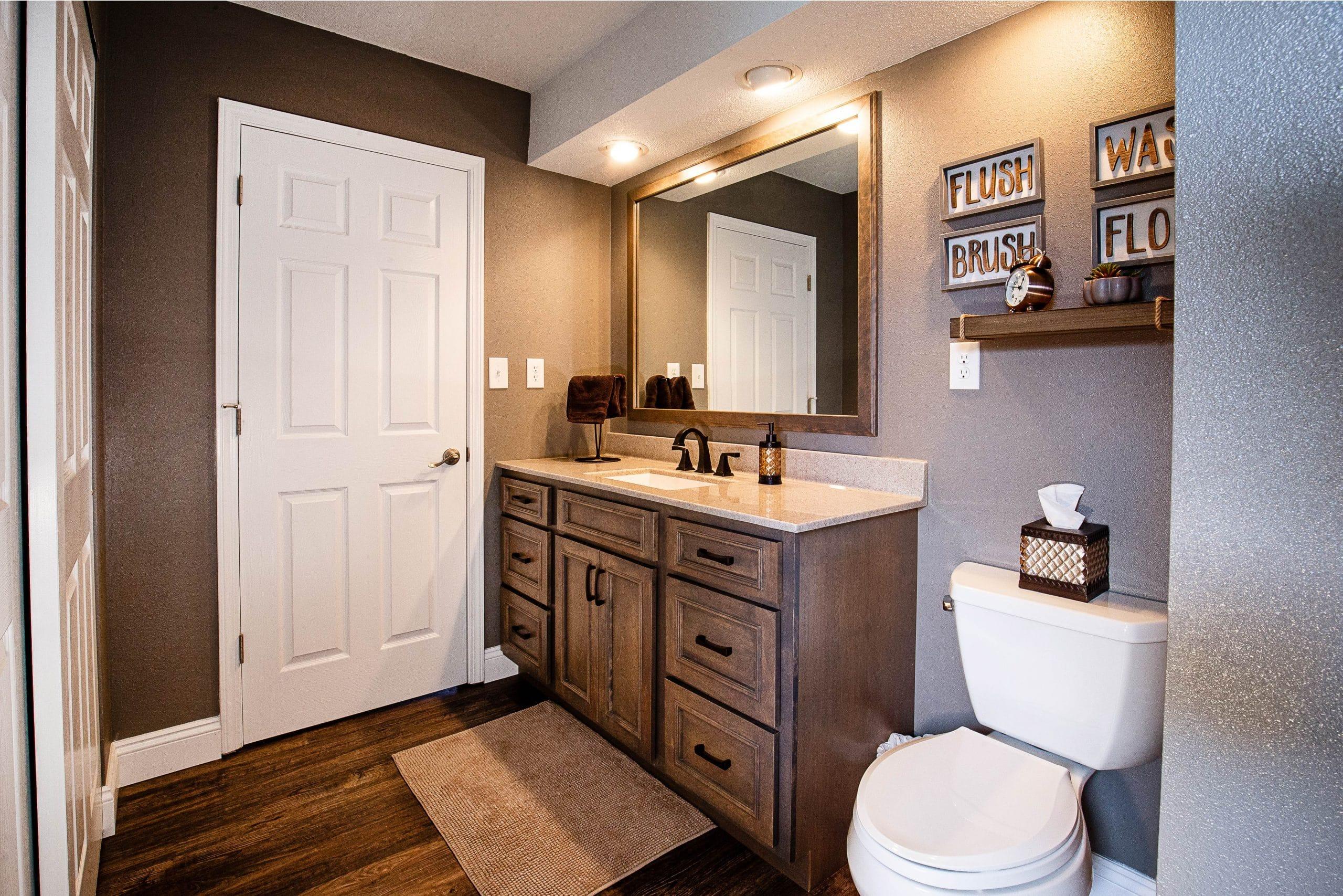 Custom Bathroom | Studio 11 Cabinets & Design