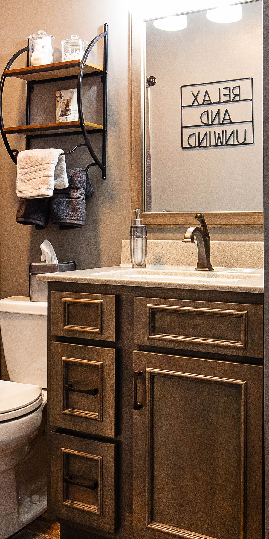 Custom Bathroom | Studio 11 Cabinets & Design