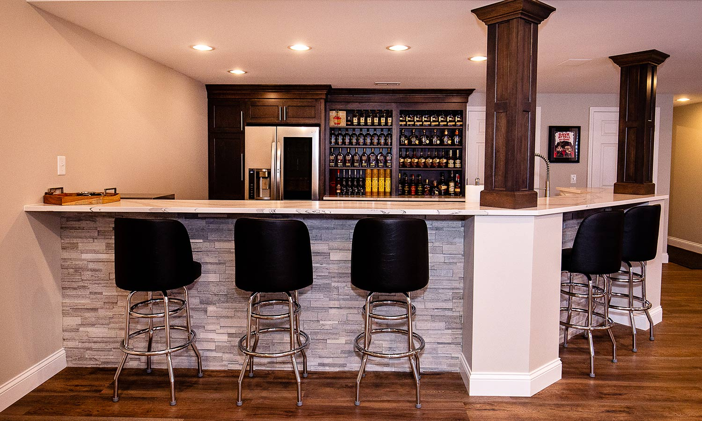 Bar Area Design | Studio 11 Cabinets & Design